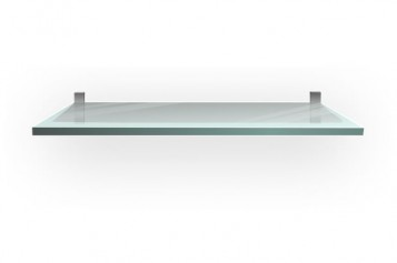 Installing Suspended Glass Shelves on a Drywall
