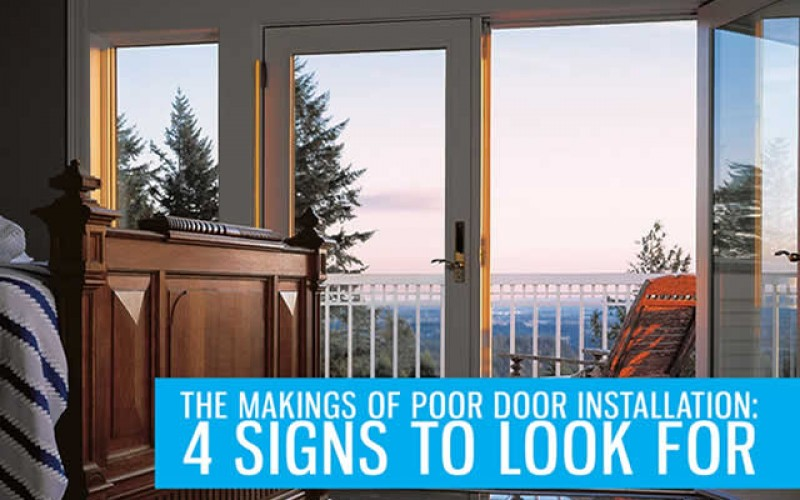 The Makings of Poor Door Installation: 4 Signs to Look For