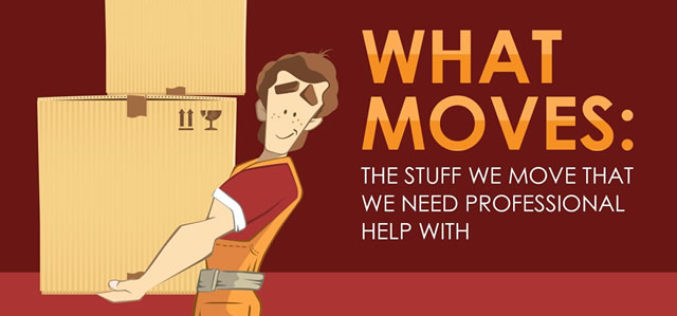 What Moves: The Stuff We Move That We Need Professional Help With