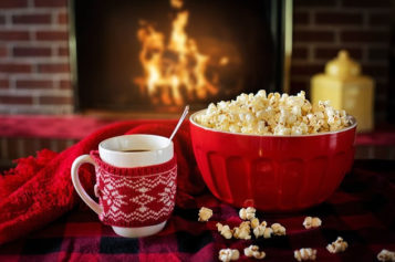 <span>Sunday Morning Tip for Dec 24:</span> Spend Christmas Eve In Front of Your Fireplace
