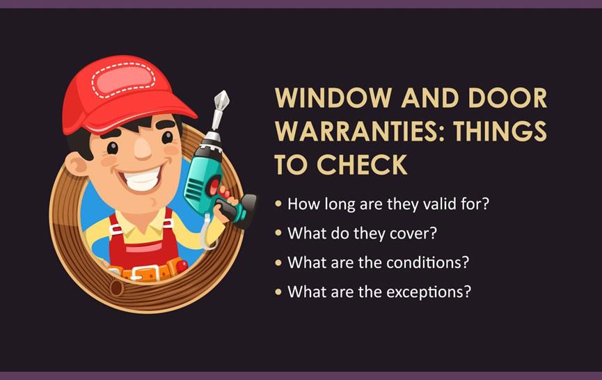 window door warranties