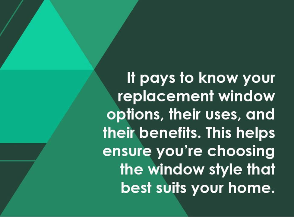 right window styles