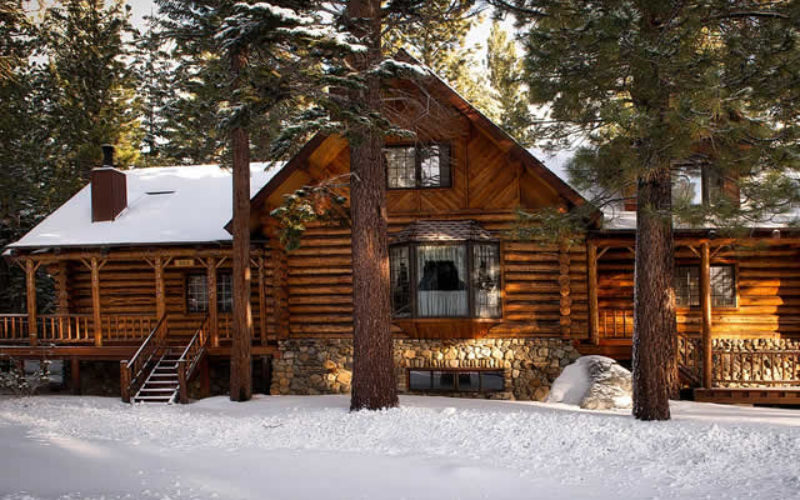 Turning a Cabin Into a Mountainous Dream
