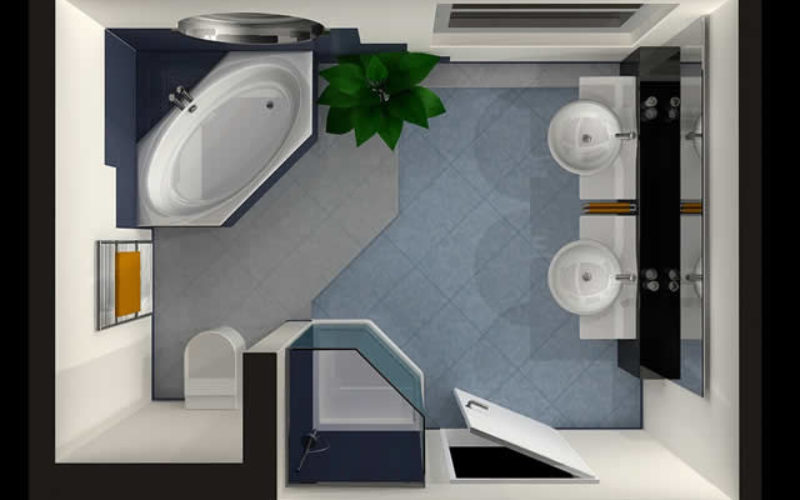 <span>Sunday Morning Tip for Jan 13:</span> Renovating the Bathroom? 4 Design Ideas That Add Sparkle and Charm