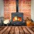 Enjoying a Fireplace