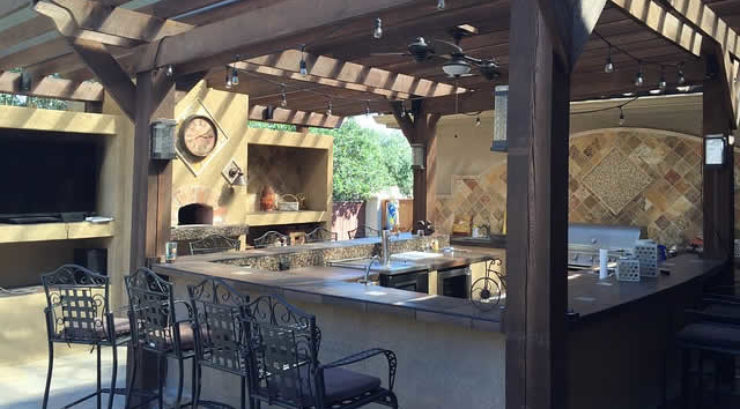 Seven Tips for Creating an Outdoor Cooking Space