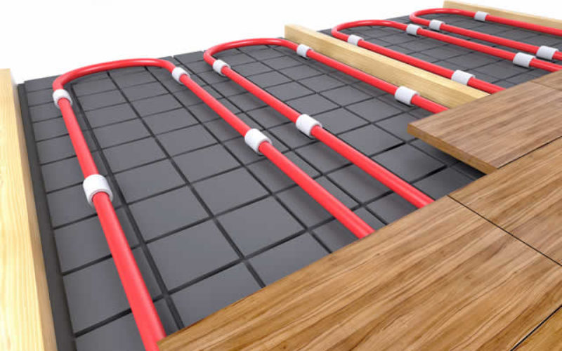 Advantages of Installing Underfloor Heating Systems at Home