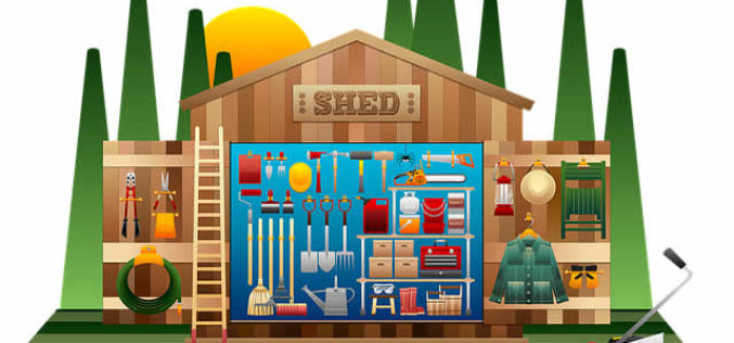 Organization Tips: Getting the Most out of Your Garden Shed