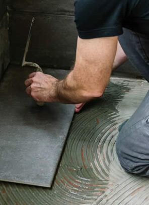 How to Put Down Tile in Your Bathroom or Kitchen