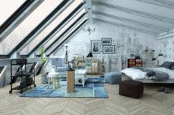 Attic Bedroom with Stellar Sky Windows