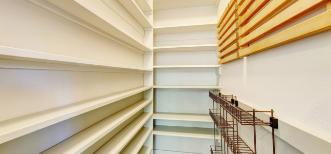 Home Pantry Storage Area