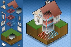 Diagram of a Geothermal Heating System