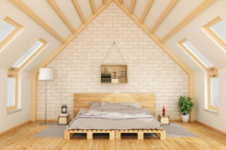 Attic Conversion Idea: Secluded Bedroom