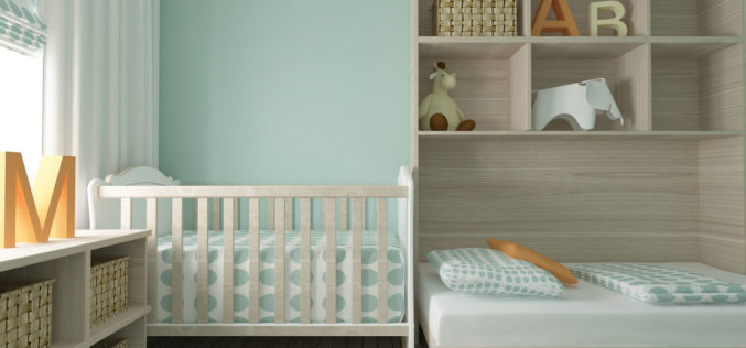 Baby Nursery and Toddler Room In One