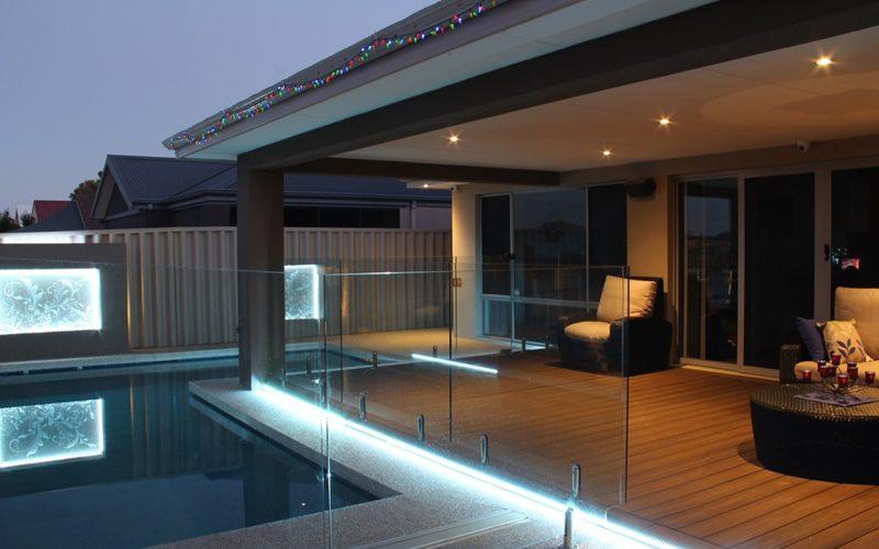 Lighting the Backyard Deck
