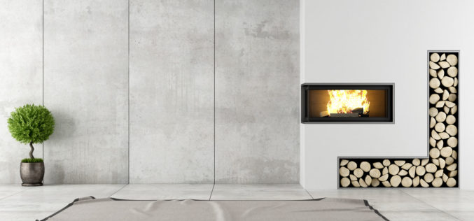 Inserted Wall Fireplace – Something Modern for the Classic Look