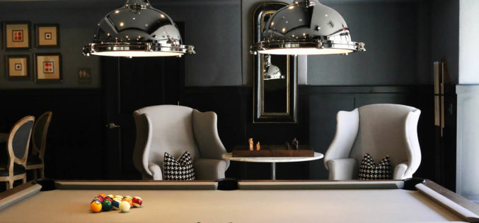 Every Rec Room Should Have a Billiard Table