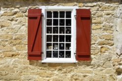 Adding Some Colorful Shutters For Exterior Home Decor