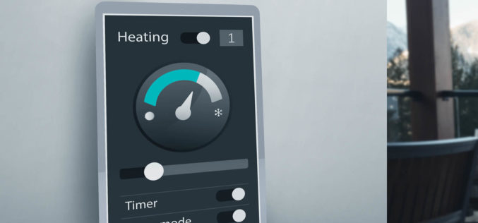 Smart Thermostat – Efficient Home Cooling and Heating
