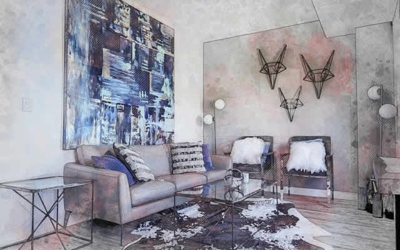 Decorating a Luxury Living Room