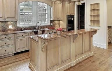 Islands and Eat-Up Kitchen Counters