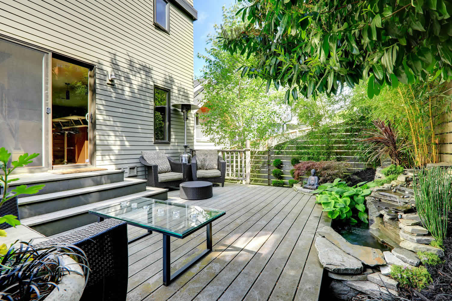 ways to improve residential landscape