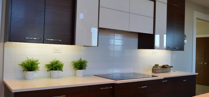 The Sleek Look of Modern Kitchen Cabinets