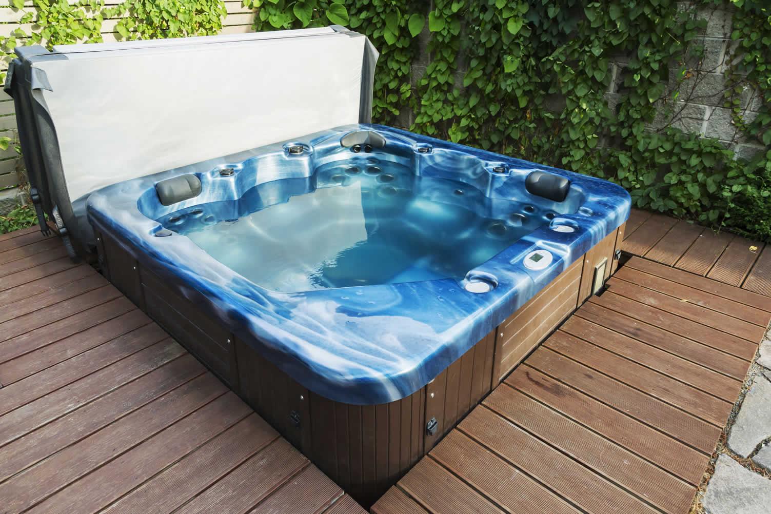installing a new hot tub
