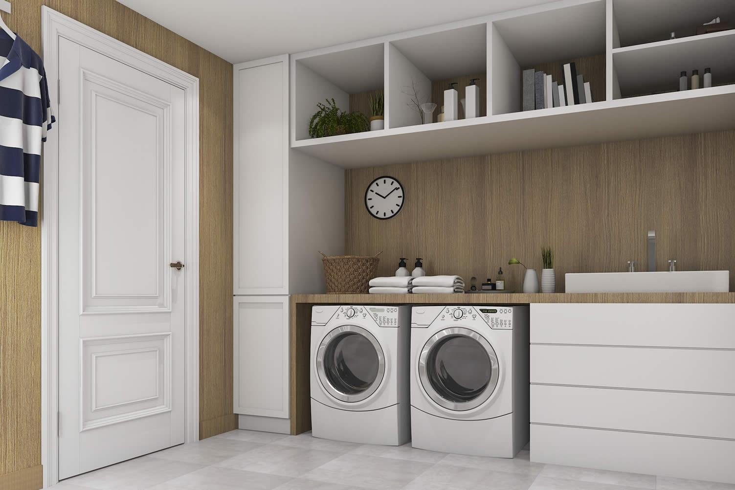 renovating laundry room