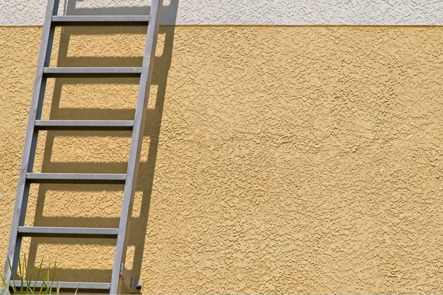 finish the exterior facade
