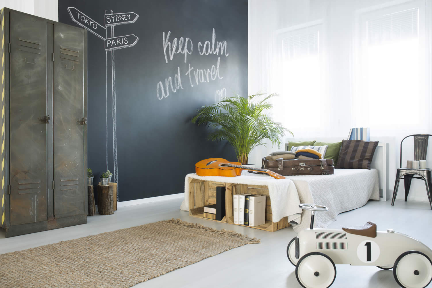 stylish solutions for the awkward space