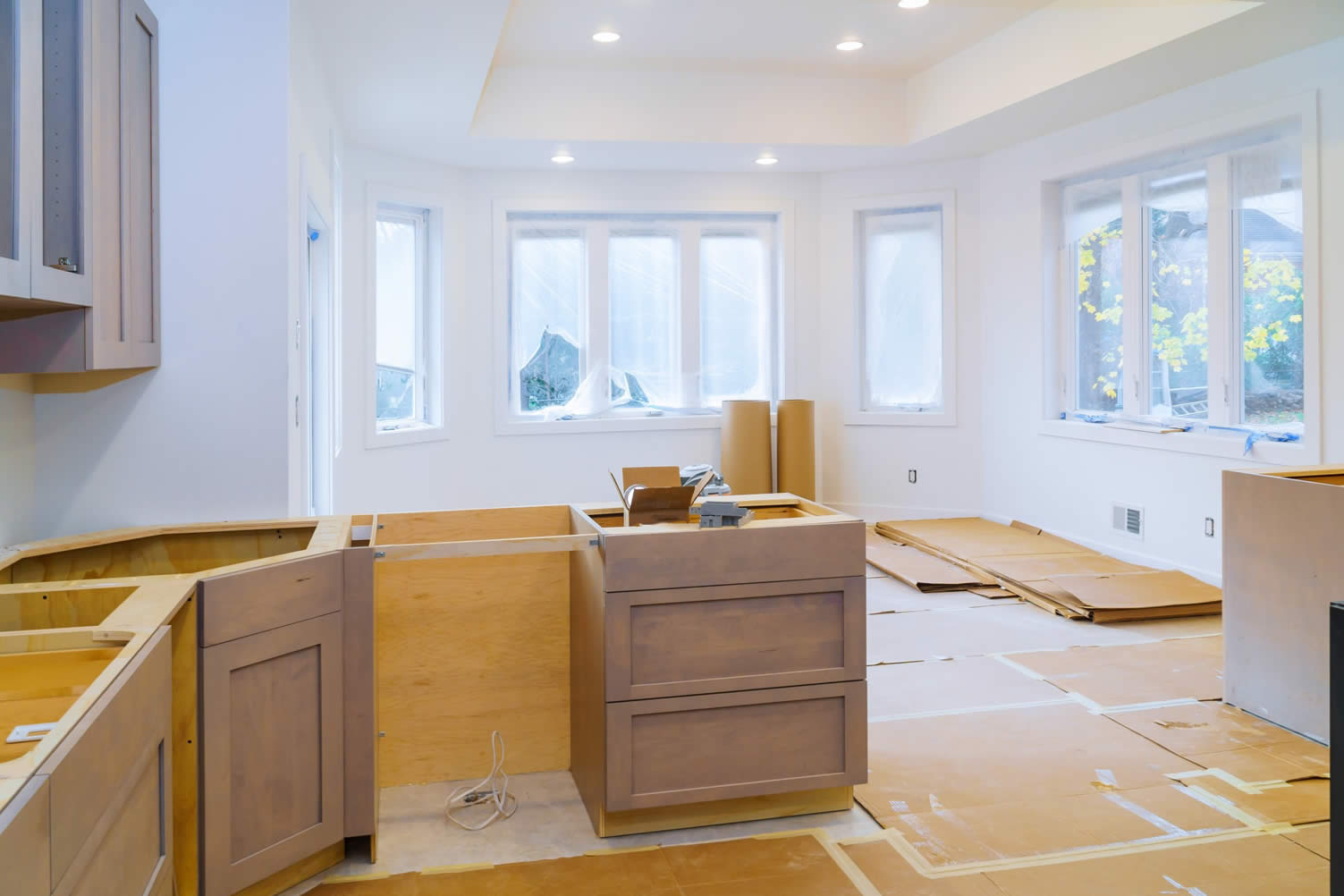 repaint or replace your kitchen cabinets