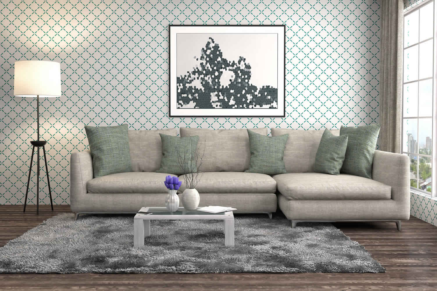 decorate your home with throw pillows