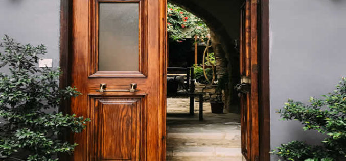 French Doors Instead Of A ???