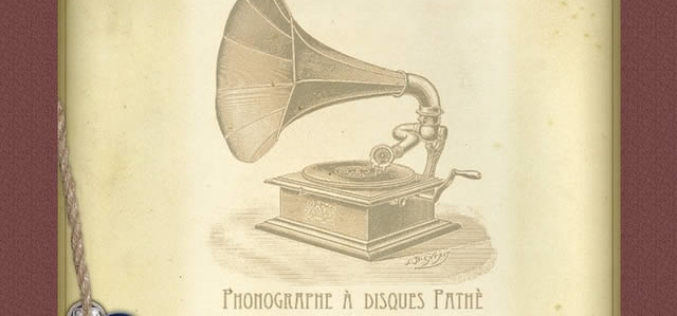 Playing Music … Maybe With a Vintage Gramophone